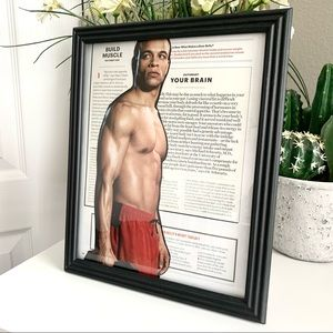 Fitness Theme Handmade 8x10 Athletic Collage